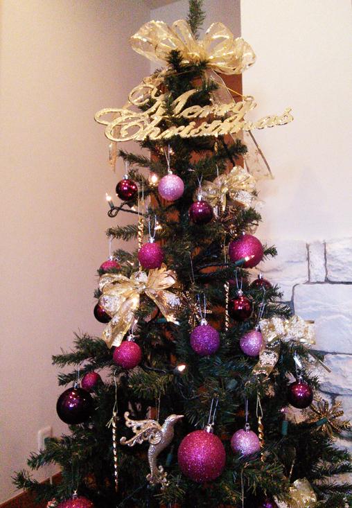 クリスマスツリー全体